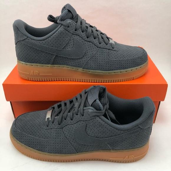 340083be1bc NEW Womens 10 Nike Air Force 1  07 Suede Low Shoes